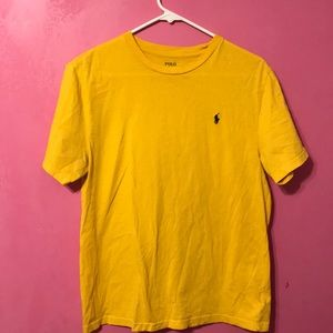 Yellow Ralph Lauren t-shirt